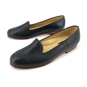 Nisolo smoking shoe black loafers 8.5